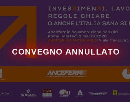 Convegno Anceferr 3 Marzo 2020