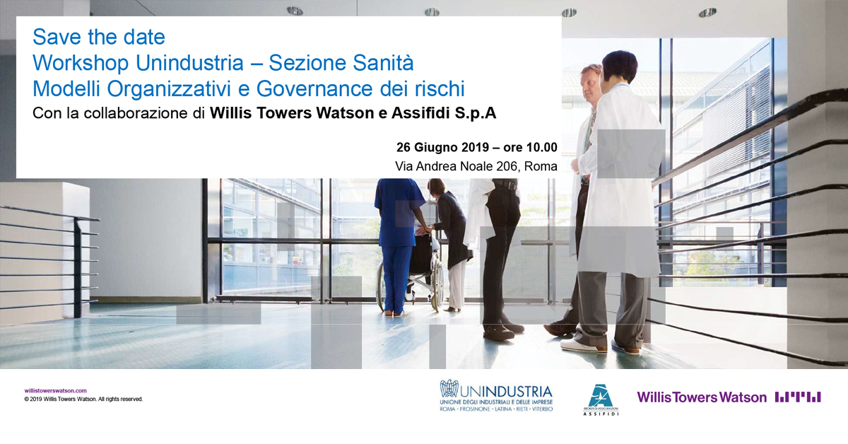 Workshop 26 Giugno 2019